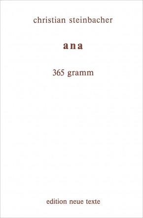 ana 365 gramm