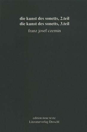 Die Kunst des Sonetts, 2 Teil/3 Teil