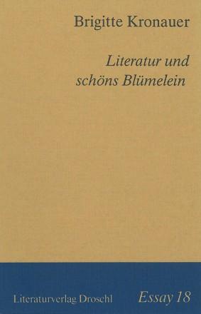 Essay 18/Literatur und schöns Blümelein
