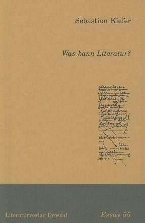 Was kann Literatur?