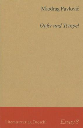 Opfer und Tempel