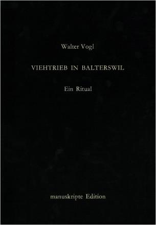 Viehtrieb in Balterswil